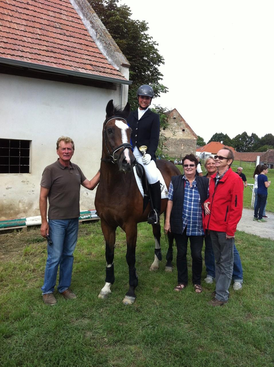 Karoline Löffler mit Jamboree und ihren Tutros :D
