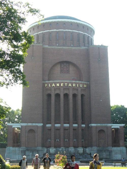 Zuletzt das Planetarium