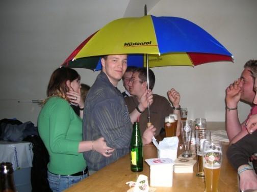 Nanu, regnet es?