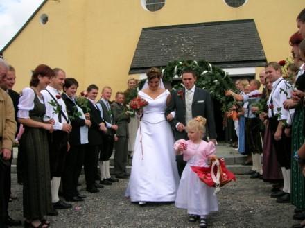 Das stolze Brautpaar!