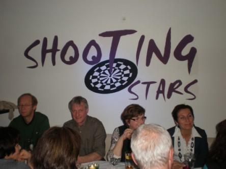 Wahrhaftig unsere Shooting Stars! ;-)