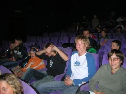 Schlechtwetterprogramm: Kino!
