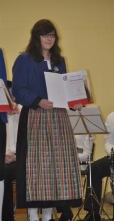 Jungmusikerleistungsabzeichen-Verleihung