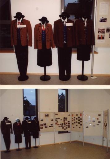 Ausstellung: frühere Trachten