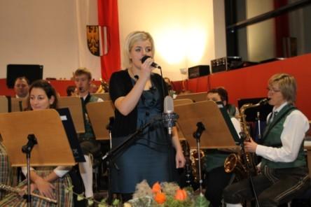 Eva Tiefenthaler begeisterte uns wieder mit ihrem Gesang!
