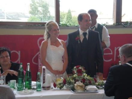 Brautpaar Sandra und Günter