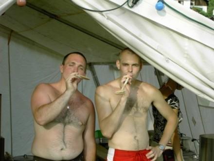 Unsere Kochlöffel-Chefs Gerald und Gerald!