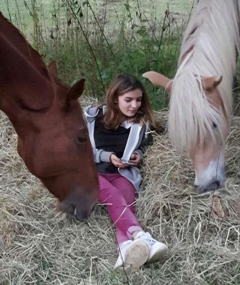 Canbera Nord et Un Si Joli Amour, adoptés par Inès, Aldo et Cécile en  2016