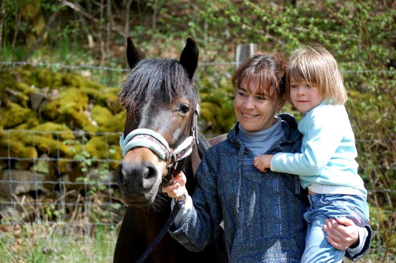 Fanny, adoptée par Karine et Ambre en 2012