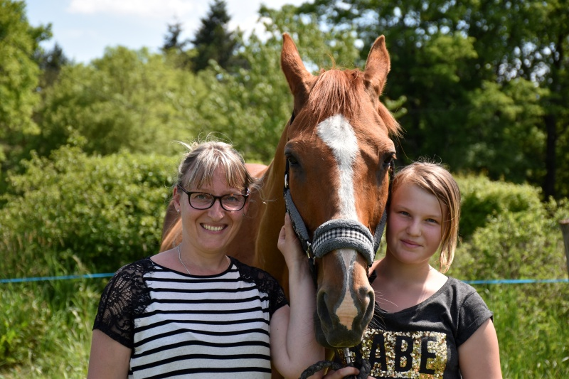 Khéops de Cravans, adopté par Léa et sa famille en 2016 (De retour à l'association en 2017)