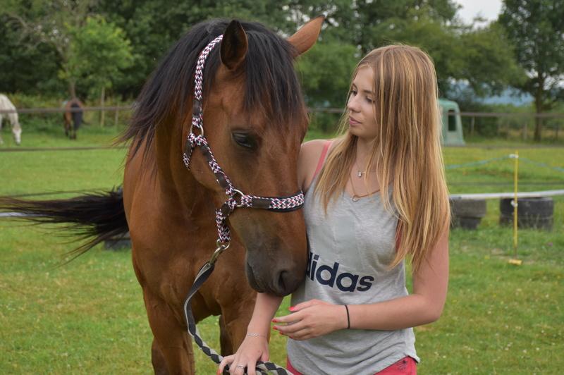Candy, arrivée à l'association en été 2015, a été adoptée par Leila !