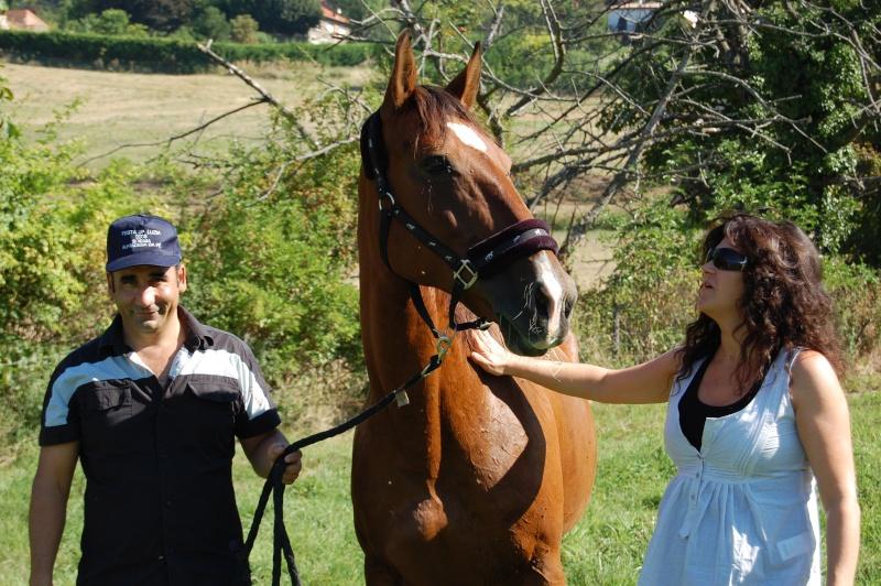 Elia des Brumes, adoptée par Abilio et Nathalie en 2008
