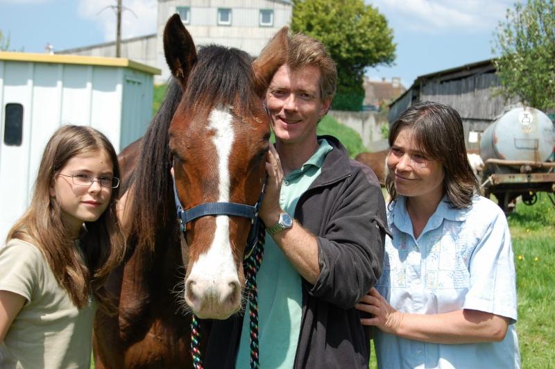 Rapide, adopté par Laurent, Catherine et Marina en 2008