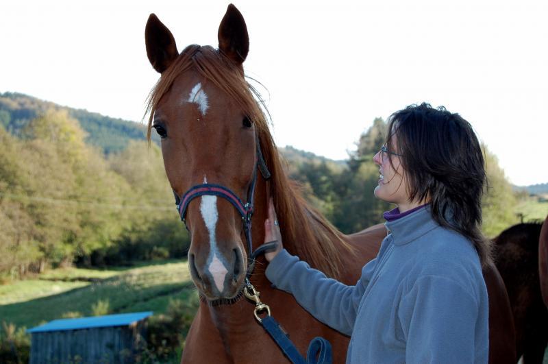 Tifille Peschard, adoptée par Rachelle en 2009