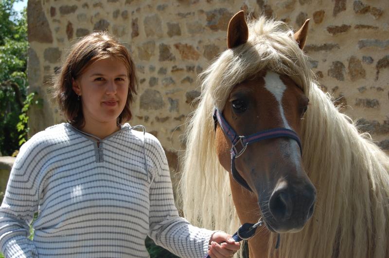 Nouchka de Liberté, adoptée par Alexandra en 2008