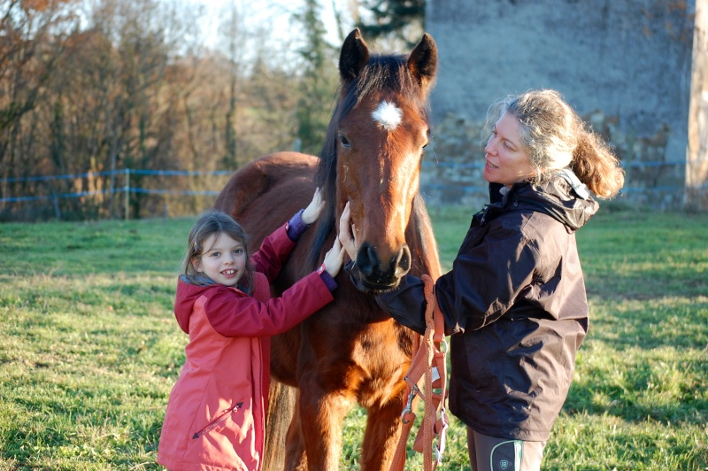 Eclair de Beaubiat, adopté par Cécile et Lilas en 2015