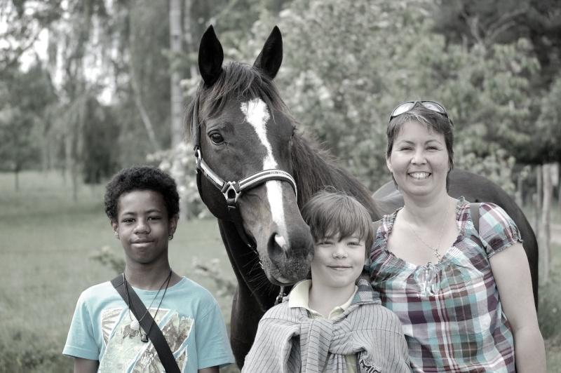Heidi, adoptée par Rachel et ses enfants en 2012