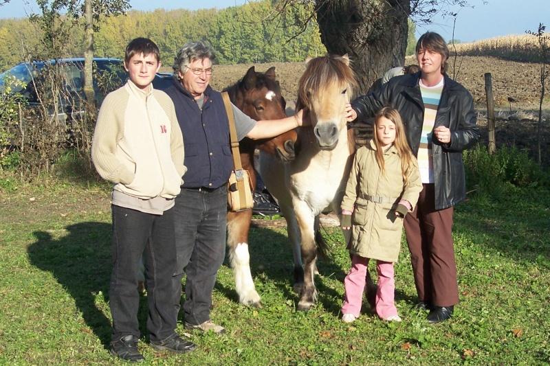 Quipper, adopté par Jean Pierre et sa famille en 2007