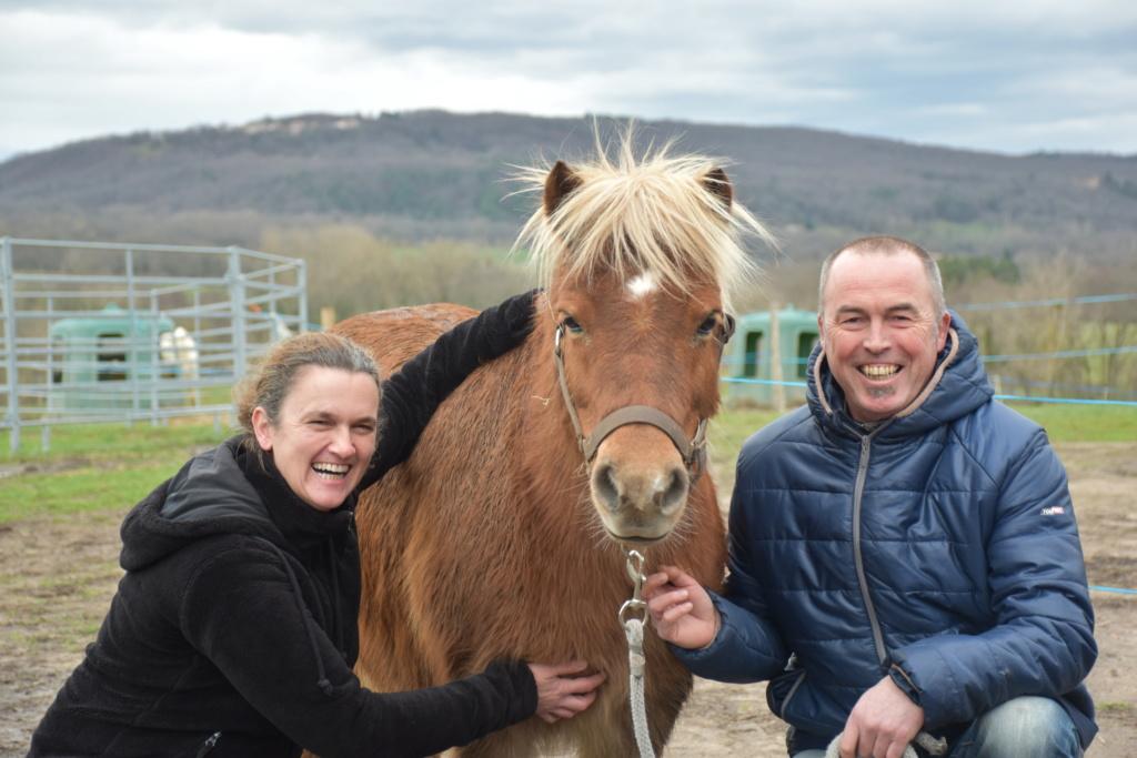 Spirit de Liberté adopté par Frédéric et sa famille en décembre 2019