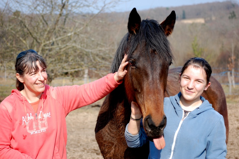 Sanajiyr, adopté par Oriane et Karine en 2012