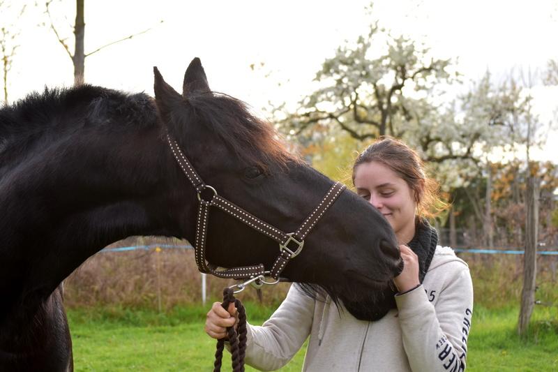 Aélia, adoptée par Sophie en 2017