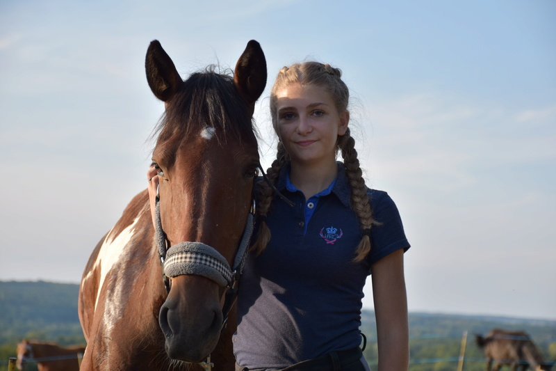 Chanceux, adopté par Clémentine en 2017