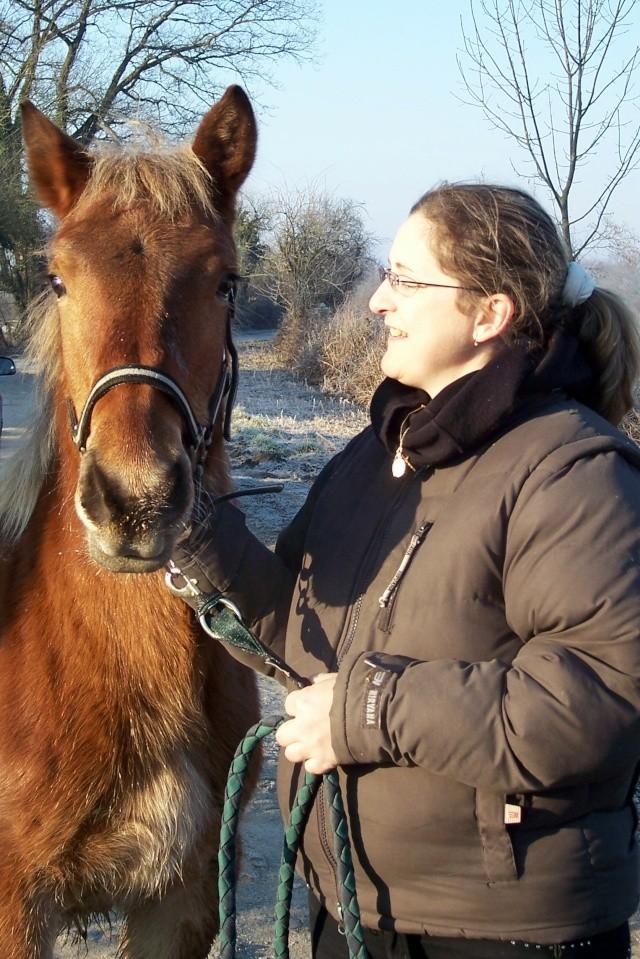 Topaze, adoptée par Céline en 2008