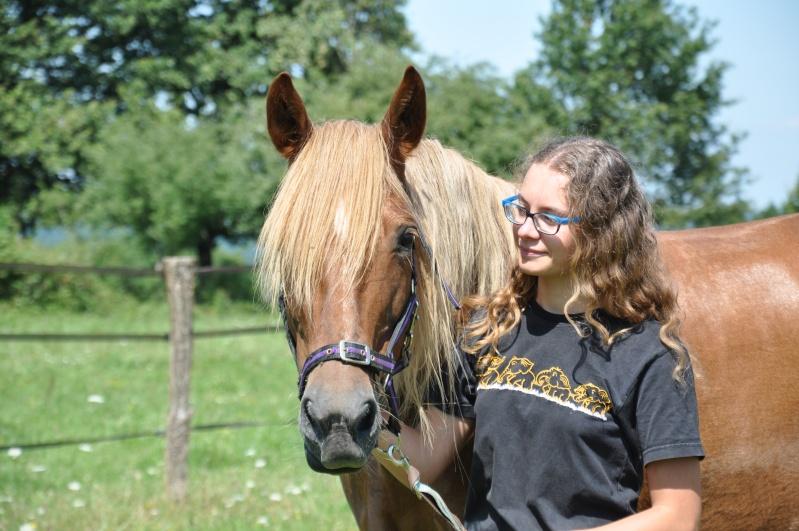 Lucie, adoptée par Émilie en 2013