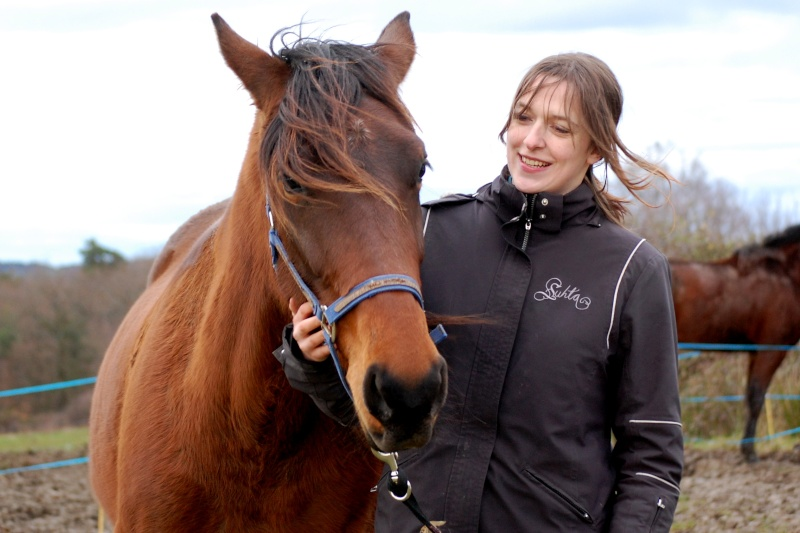 Tina de Jaudrais, adoptée par Coraly en 2012