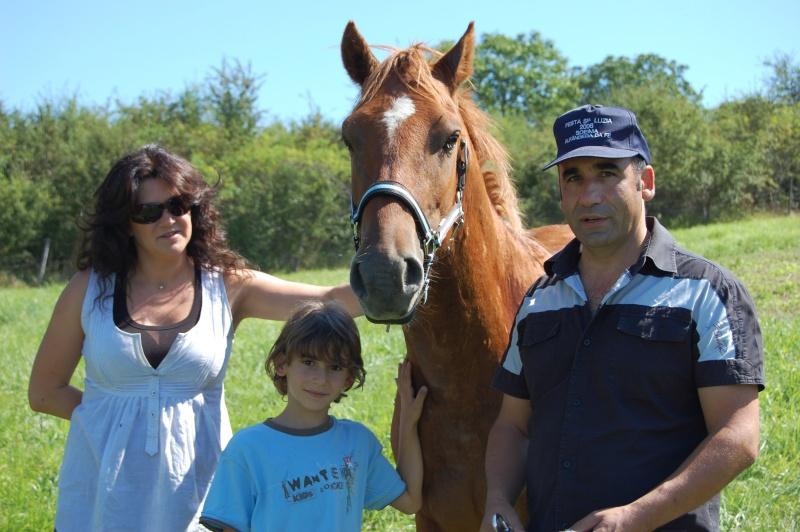 Sherkan de Liberté, adopté par Abilio et Nathalie en 2008