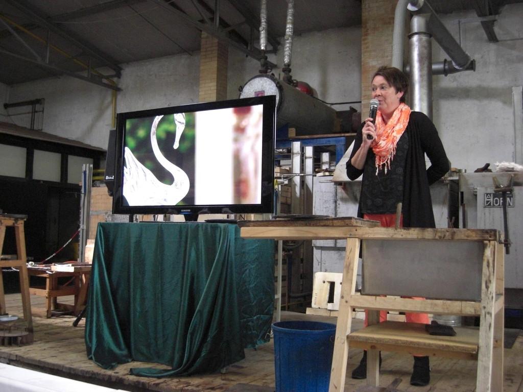 Vortrag zur Glasbläserei
