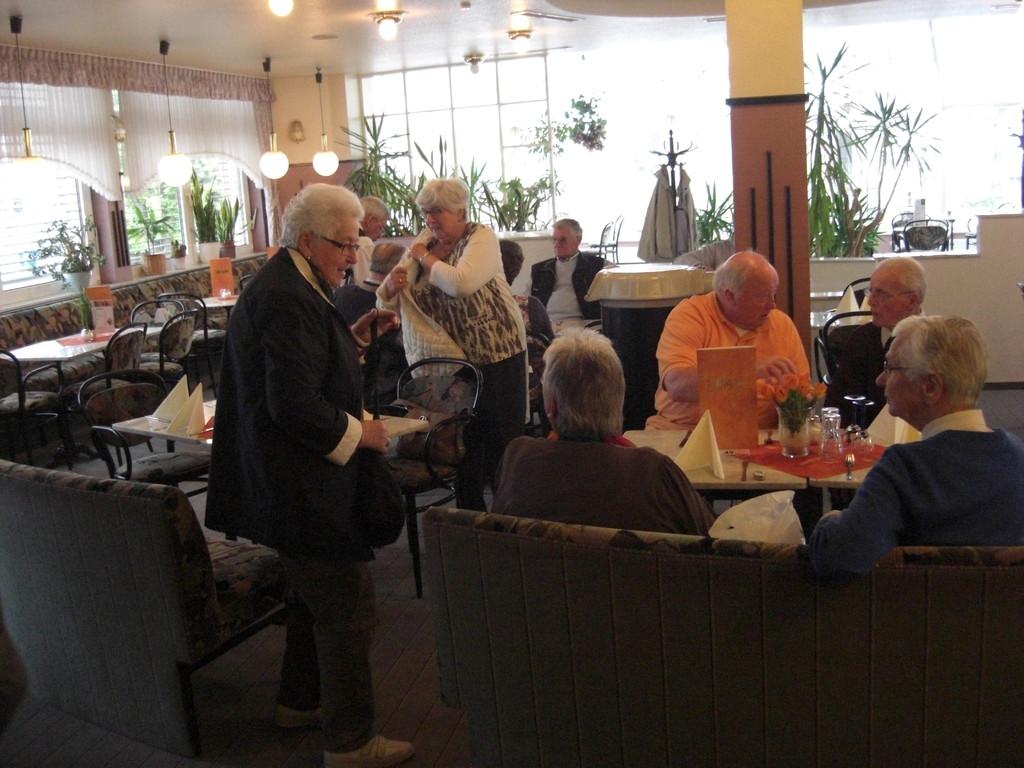 ... im Café Heyse