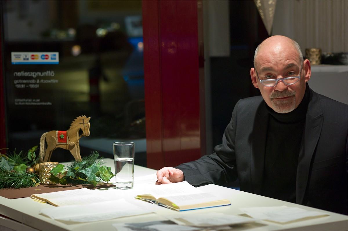 """Günther Morgen liest """"Heilige & unheilige Weihnachtsgeschichten"""""""