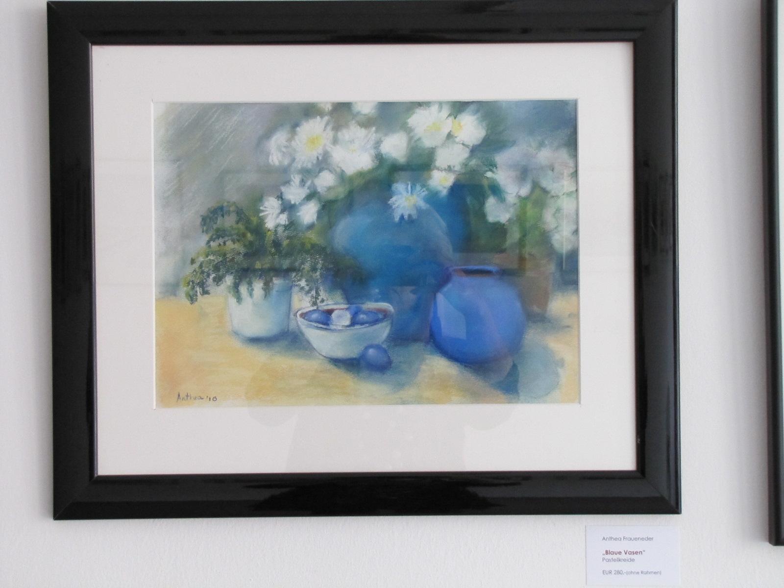 """Anthea Fraueneder - """"Blaue Vasen"""""""