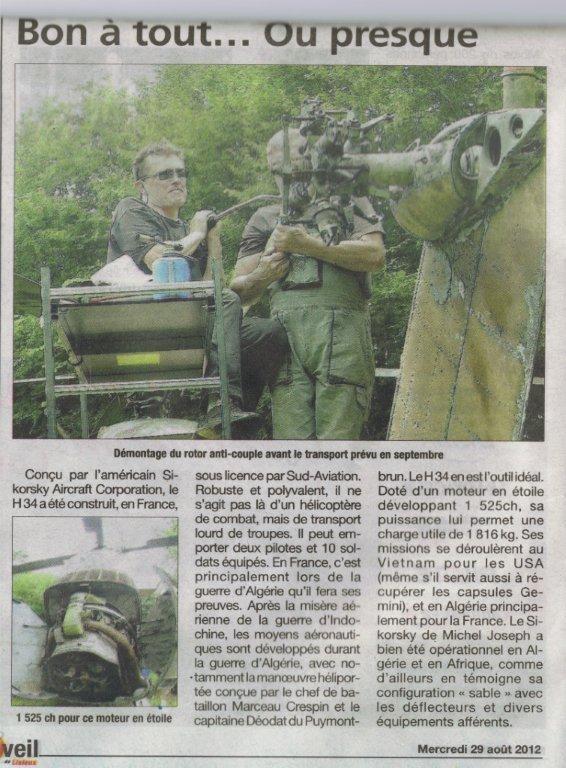 """""""L'EVEIL DE LISIEUX"""" 29 Août 2012 """"Click"""" sur l'image pour agrandir...!!!"""