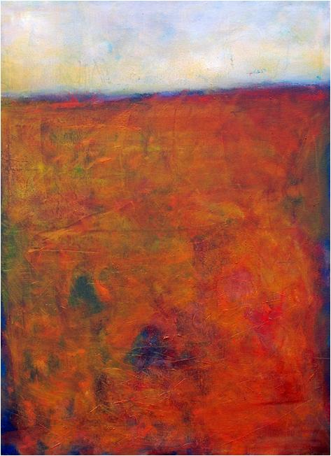 """""""Horizont I"""" Öl auf Leinwand 56 x 75 cm Privatbesitz München"""