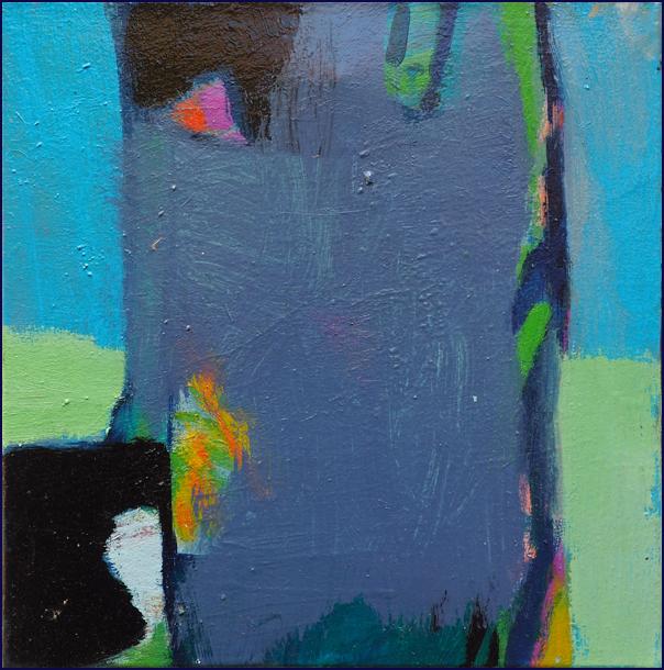 ohne Titel - Öl auf Leinwand 30 x 30 cm - € 300,-