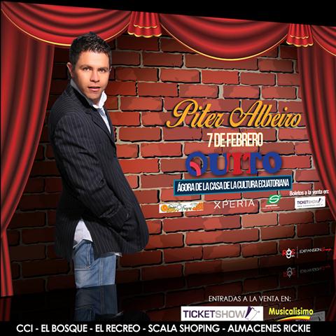 Por primera vez #PiterAlbeiro en #Quito con un show inolvidable. Si te gusta pasar un momento lleno de risas, esta es tu oportunidad para no parar de reír. ¡Los esperamos! Entradas a la venta en #ticketshow #MUSICALISIMO  cci - el bosque - el