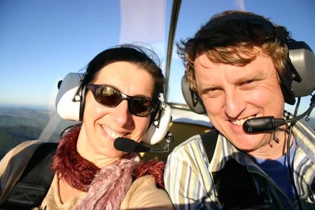 Vicki and I