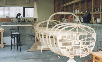 Aligning the fuselage frames