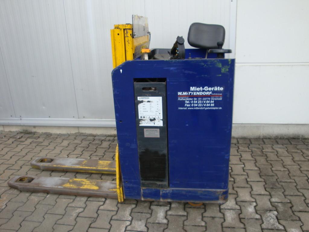 Stöcklin ESI 1600 Elektro Fahrerstandhubwagen  Baujahr 2001