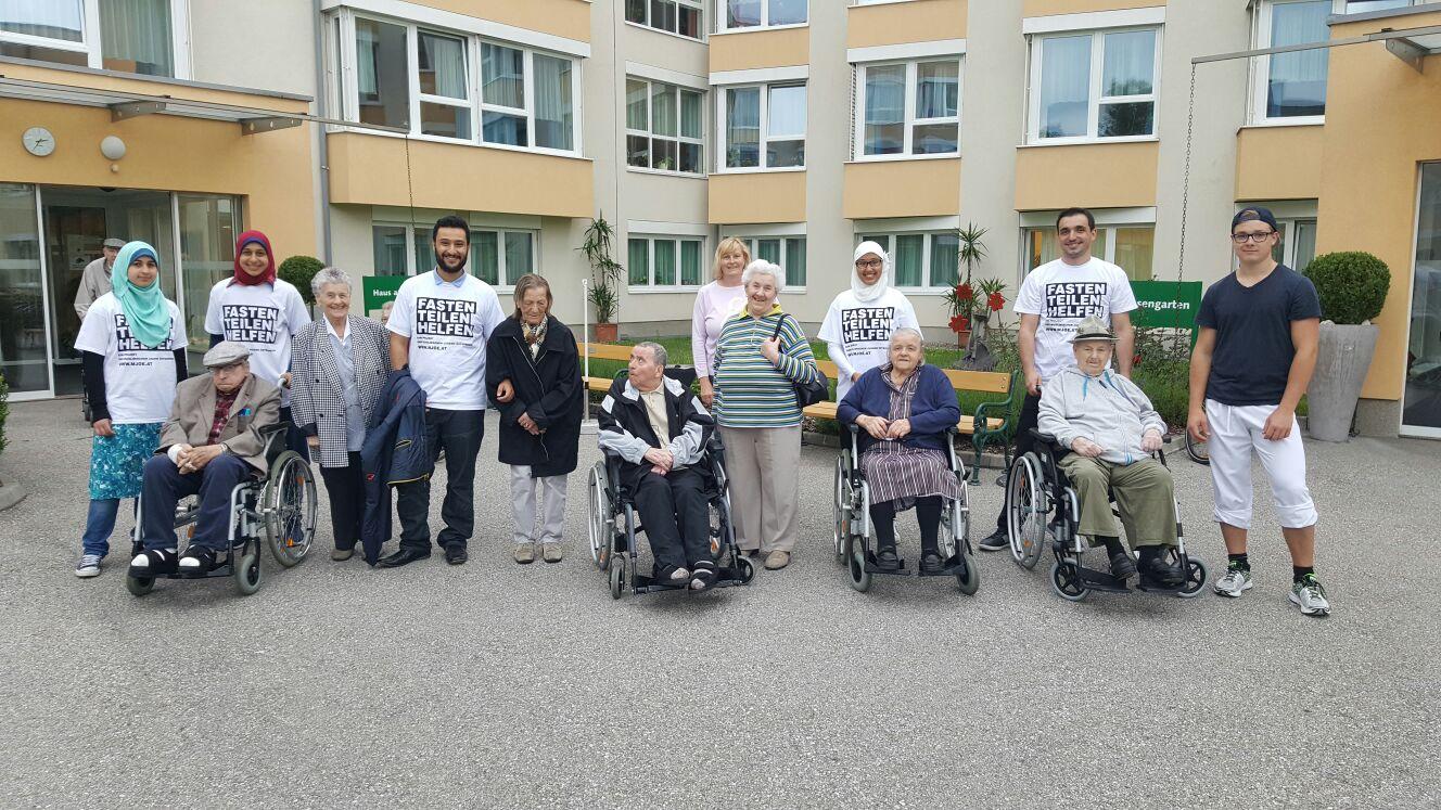Im Seniorenheim Braunau