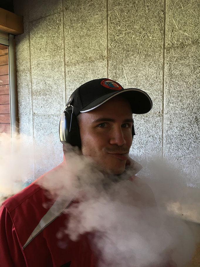 Co macht mächtig Dampf am Frühlingsschiessen Bülach 2017