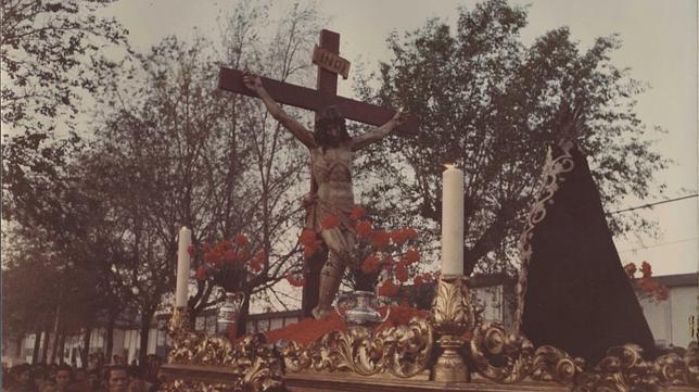 Antiguo Paso procesional, aún sin restaurar