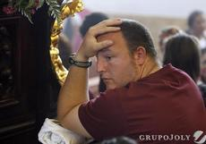 Hermano Costalero Procesión suspendida de 2011 por lluvia