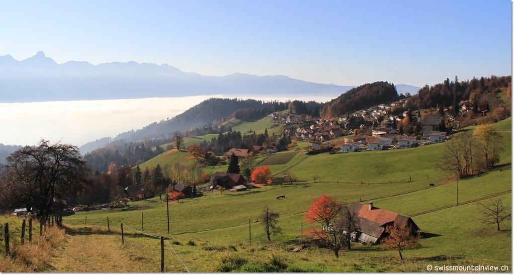 Goldiwil oberhalb von Thun