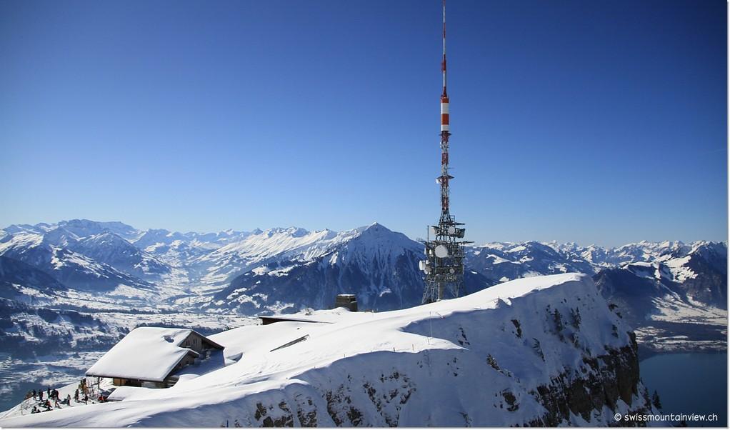 Hier nochmals der blick aufs 1963 m hohe Niederhorn...