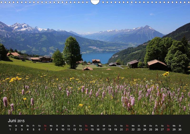 Beatenberg - Waldegg, Blick Richtung Niesen, Thunersee, Berner Oberland