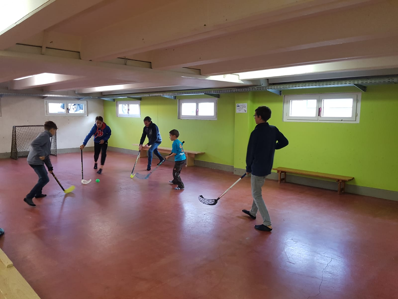 Spontane Unihockey-Turniere am Herbst-Weekend [November 2018]
