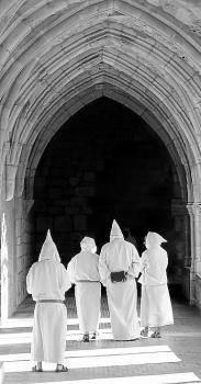 Una visita al monasterio (Foto: D.N.)